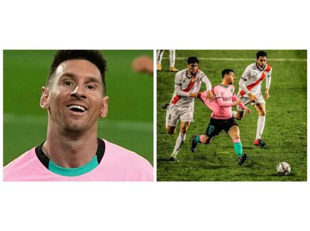 See What This Player Did To Messi Today In The Name Of Stopping Him From Scoring A Goal Against Them