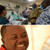 Emerging Photos Shows DP Ruto Visited the Fallen Kimani Ngunjiri's Son in Hospital