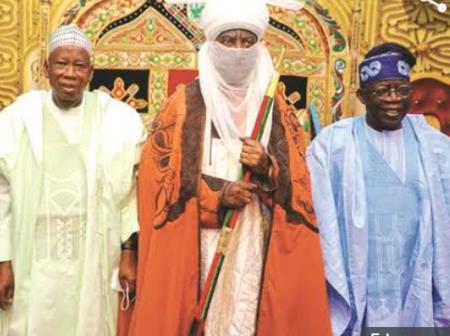 Tinubu @ 69: Emir of Kano Showers Praises At The APC Chieftain For His Patriotism