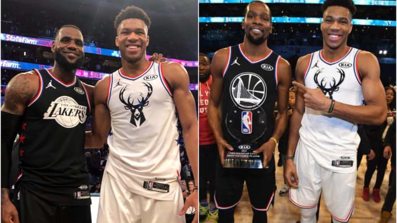 Lebron James Giannis Antetokounmpo And Kevin Durant Lead The Top 15 Most Popular Nba Jerseys Opera News