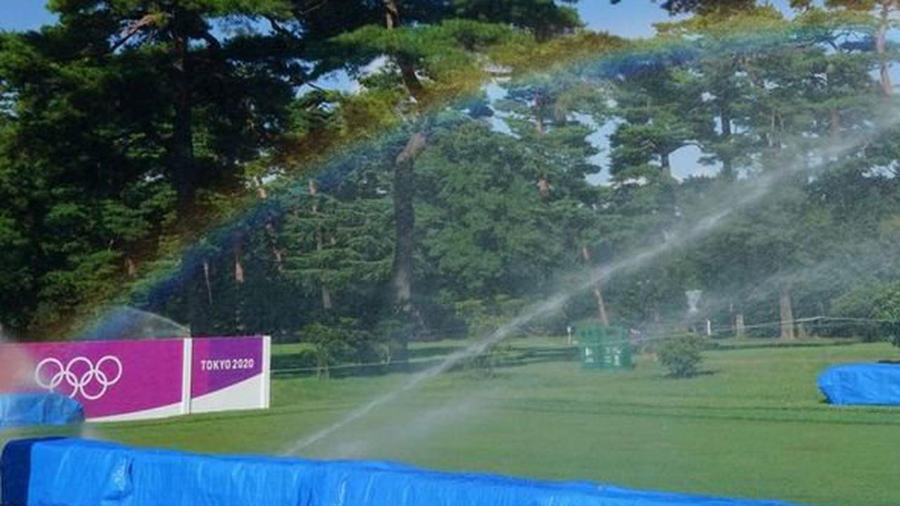 Women's Olympic golf could be cut to 54 holes amid approaching storm and suffocating heat