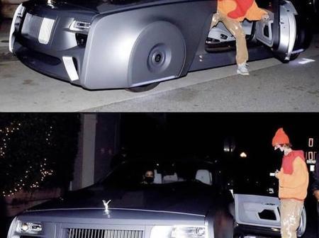 Check Out Justin Bieber's Futuristic Electric Rolls Royce Car