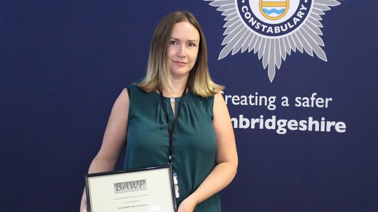 Police and public commended for bravery at ceremony in Cambridgeshire