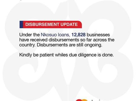 UPDATE: Disbursement of funds ongoing.