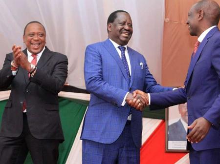 Uhuru Needs Raila To Survive, Manyora Says as he Predicts This To Raila & Ruto's Camp if They Unite