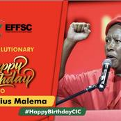 Julius Malema turns 40