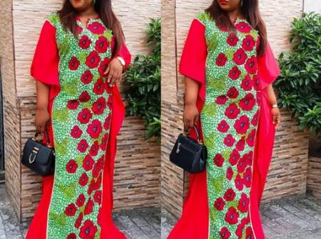 Dear Ladies, Check Out These Latest Ankara Maxi Gown Styles To Rock This Month