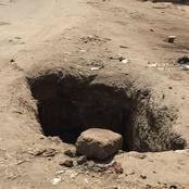 (قصة) سقط في حفرة أثناء السير فاكتشف هذا السر وأصبحت حياته مهددة