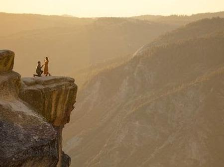 Having Said Yes To A Man, Lady Falls From A Cliff And This Happens