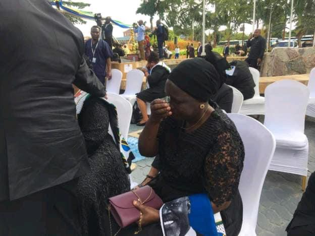 b1c22179928c4680a4fb6f6e4ba7853d?quality=uhq&resize=720 - Day 2: Sad Scenes From Tanzania As Their President, John Magufuli Funeral Rites Proceeds - Photos