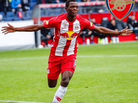 Arsenal Target Salzburg Striker in the Summer Transfer Window