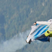First Electrical Powered Wing Suit That Can Fly With Speeds Of Up To 300km/h