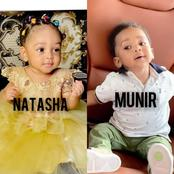 Check Out These Cute Photos Of Natasha Baby And Prince Munir
