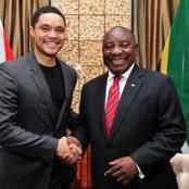 Trevor Noah has been accused of taking sides on South African Presidents