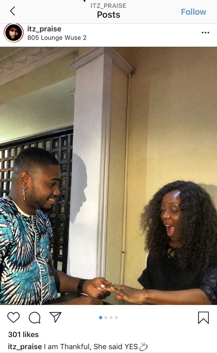 b1d8eab3df1b77120484c82096021d08?quality=uhq&resize=720 - See Pictures of BBNaija Housemate, Reward Nelson With Spouse And Youngster After He Stated He Is Single