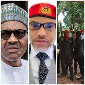 Reactions As ESN Are Seen With AK-47 Just Few Days After Shoot-On-Sight Order From President Buhari
