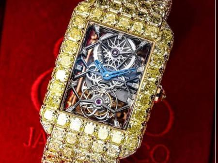 Check out the top 10 most expensive wristwatches in the world