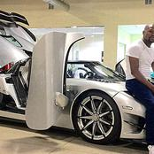 Mayweather's £20m car collection features all white vehicles in Las Vegas