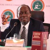 Justice Marete Njagi Opens up to JSC on the Disease He is Suffering From During Chief Justice Interview