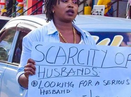 Mixed Reactions Online As Woman Enters Market Begging Men to Marry Her.