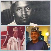 Dangote Is 64 Years Old Today, See His Past And Present Photos, Achievements