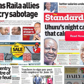 Newspaper Review: Teachers To Get Higher Salaries, One Night Call That Calmed Raila Odinga