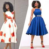 Monday To Friday Office Gowns For Beautiful Ladies - PHOTOS