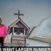 Churches want larger numbers of congregants during their services.