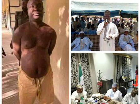 See More Photos Of The Former LG Chairman Arrested For Helping Bandits In Katsina