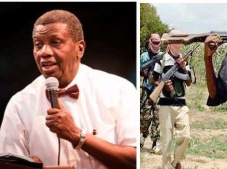 Read What Pastor Adeboye Just Posted About Abducted RCCG Members That Sparked Reactions Online