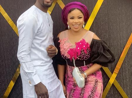 Celebrity Couple, Seyi Edun And Adeniyi Johnson Looks Lovely In Today's Photos. Check Them Out
