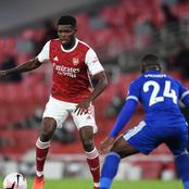 These Two Ghanaian Players Came Up Against Each Other In Arsenal's 3-1 Win Over Leicester City