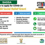 SASSA: Will The Social Distress Relief Grant Be Pay Out On The 10 Of August?
