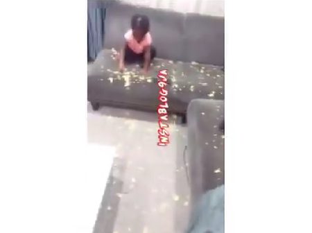 Man Reveals What His Neighbour Said After Seeing The Mess His Child Made (VIDEO)