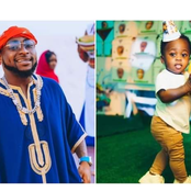 Check Out Reactions As Davido Shared Adorable Photos Of His Son Ifeanyi. (Photos)