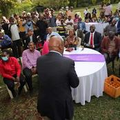Gideon Moi Surprises Revellers at a Local Joint in Kiambu as He Stops For 'Nyama Choma' (Photos)