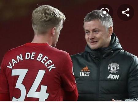 Was Ole Gunnar Solkjer fair to Van de Beek on the match against West Ham United
