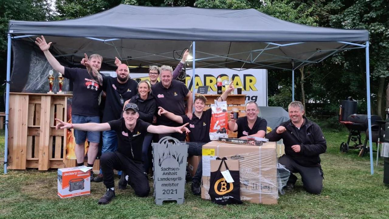Wettkampf: Storkower gewinnen Grill-Meisterschaft in Sachsen-Anhalt