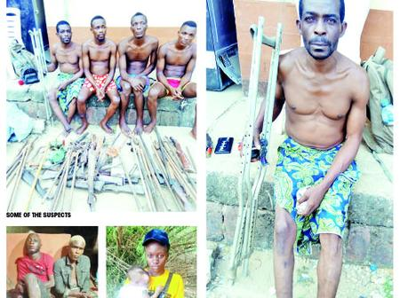 Disabled Man Who Manufactures And Sells Illegal Arms To Robbers, Kidnappers Arrested In Anambra