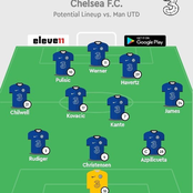 Opinion: Chelsea Would Easily Silence And Trash Manchester United Tomorrow With This Lineup