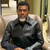 See What Reno Omokri Said After Don Davis' Mother Accused Him Of Threatening Her.