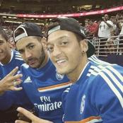 After Benzema scored against Barcelona, see what Ozil called him
