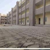 This primary school under construction in Borno looks like a university building, see photos