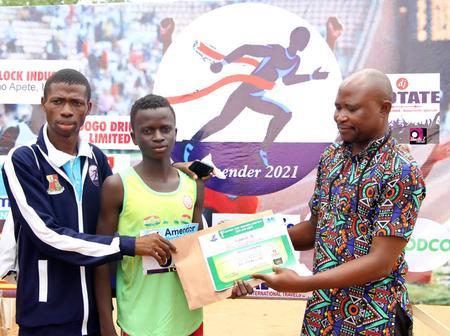15 year old Plateau Boy Wins Ibadan Amender Road Race