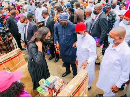 Bukola Saraki Attended Graduation Ceremony Of ProjectGest In Asaba, Delta State (Pictures)