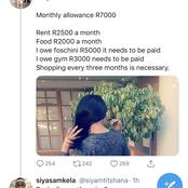 Limpopo Woman Says That She Requires R19 000 A Month To Be Someone's Girlfriend