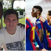 Ilaix Moriba and Messi: How it started and how it's going now