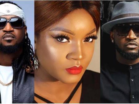Fans Drag Omotola Jalade-Ekeinde For Celebrating Peter Okoye & Leaving Out Paul