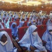 The Kidnapped School Girls Has Been Finally Released By Bandits, See Their Pictures & What They Wore