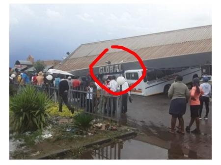 In Pictures: Filling Station Structure Collapses Onto Vehicles As Storm Wreaks Havoc